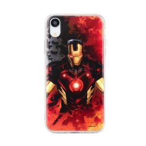Pouzdro iPhone XR (6,1) MARVEL Iron Man Multicolor vzor 003