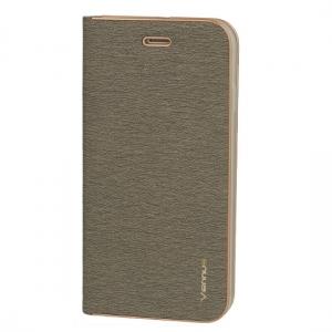 Pouzdro VENNUS Book Huawei P20 Lite barva šedá