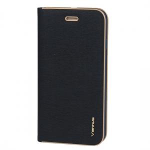 Pouzdro VENNUS Book Huawei P8 Lite (2017), P9 Lite (2017) barva navy blue