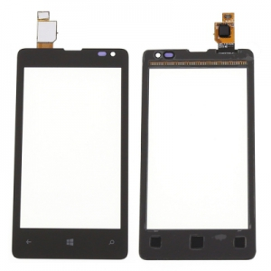 Dotyková deska Nokia 435, 532 Lumia s rámečkem černá