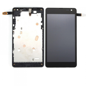 Dotyková deska Nokia / Microsoft 535 Lumia verze: 1973 + LCD s rámečkem černá