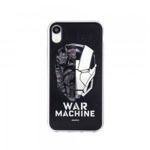 Pouzdro iPhone X, XS (5,8) MARVEL War Machine Luxory Chrome vzor 001