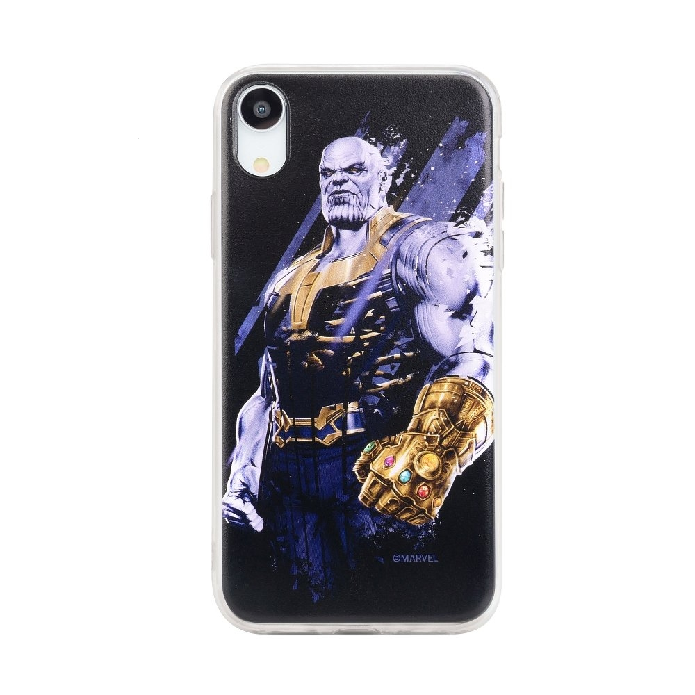 Pouzdro Samsung A600 Galaxy A6 (2018) MARVEL Thanos vzor 003