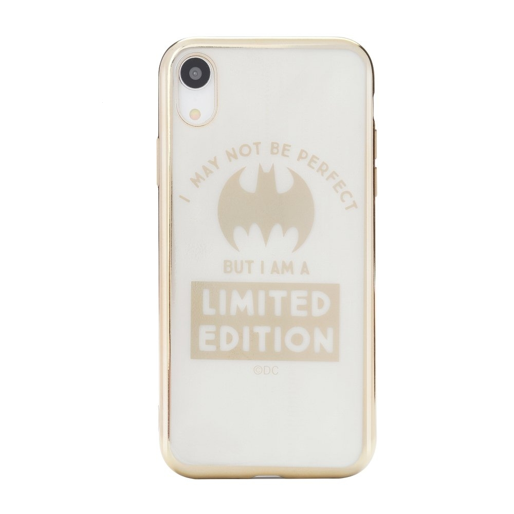 Pouzdro iPhone XR (6,1) Bat Girl Luxury Chrome vzor 005