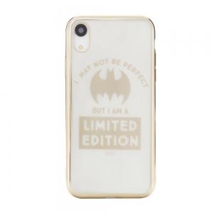 Pouzdro iPhone XR (6,1) Bat Girl Luxury Chrome vzor 005