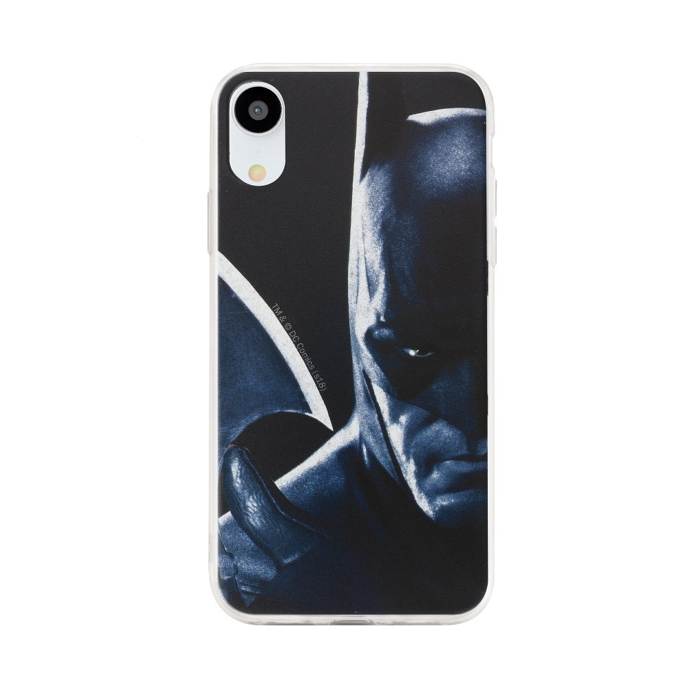 Pouzdro iPhone XS MAX (6,5) Batman Navy Blue vzor 020