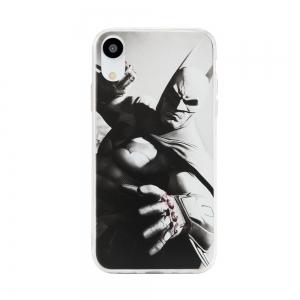 Pouzdro Huawei MATE 20 LITE Batman Grey vzor 019