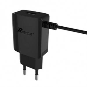 Cestovní nabíječ Reverse micro USB TYP C 2A + 1x USB
