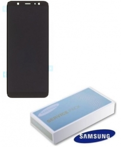 Dotyková deska Samsung A605 Galaxy A6 PLUS (2018) + LCD black Service Pack - originál