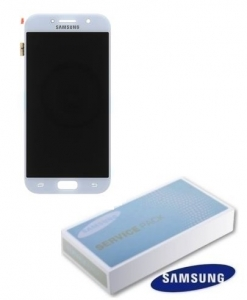 Dotyková deska Samsung A520 Galaxy A5 (2017) + LCD blue Service Pack - originál