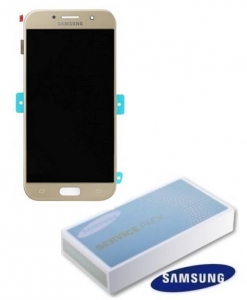 Dotyková deska Samsung A520 Galaxy A5 (2017) + LCD gold Service Pack - originál
