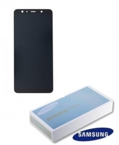 Dotyková deska Samsung A750 Galaxy A7 (2018) + LCD black Service Pack - originál