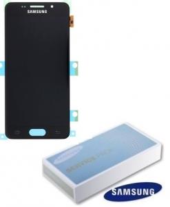 Dotyková deska Samsung A310 Galaxy A3 (2016) + LCD black Service Pack - originál
