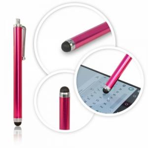 Dotykové pero (stylus) kapacitní PERO barva růžová