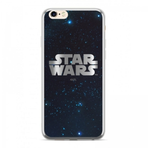 Pouzdro iPhone 7, 8 (4,7) Star Wars Luxory Chrome vzor 003 - silver