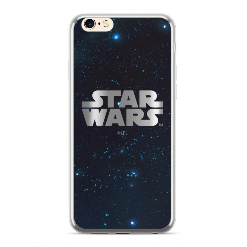 Pouzdro Samsung J415 Galaxy J4 PLUS (2018) Star Wars Luxory Chrome vzor 003 - silver