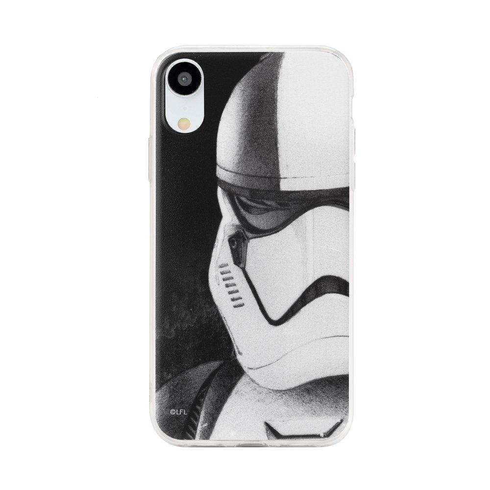 Pouzdro Samsung J600 Galaxy J6 (2018) Star Wars Stormtrooper vzor 001