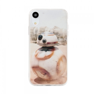 Pouzdro iPhone XS MAX (6,5) Star Wars BB-8 vzor 001