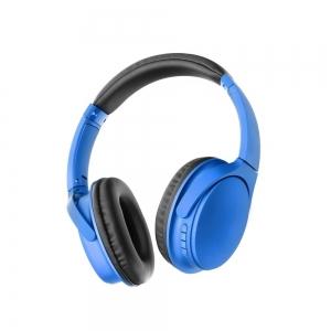 Bluetooth headset MS-K10 barva modrá