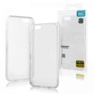 Pouzdro MERCURY Jelly Case iPhone 6 PLUS, 6S PLUS (5,5) transparentní