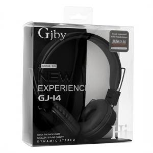 Sluchátka GJBY GJ-14 AUDIO Extra BASS barva černá