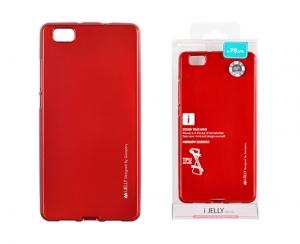 Pouzdro MERCURY i-Jelly Case METAL Huawei P30 červená
