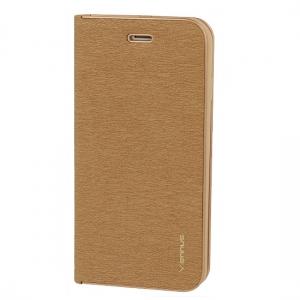 Pouzdro VENNUS Book Huawei MATE 20 PRO barva zlatá