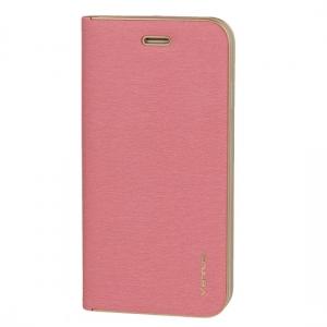 Pouzdro VENNUS Book Huawei MATE 20 LITE barva růžová