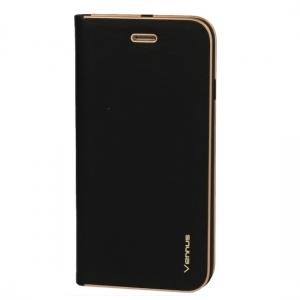 Pouzdro VENNUS Book Huawei Y5 (2018) barva černá