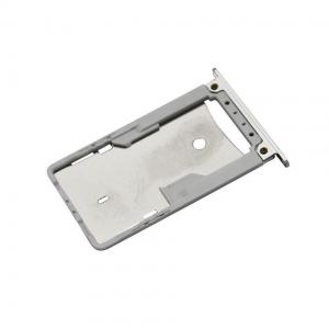 Držák (šuplík) SIM Xiaomi Redmi NOTE 4X bílá / silver