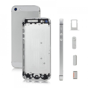 Kryt baterie + střední iPhone 5 originál barva white