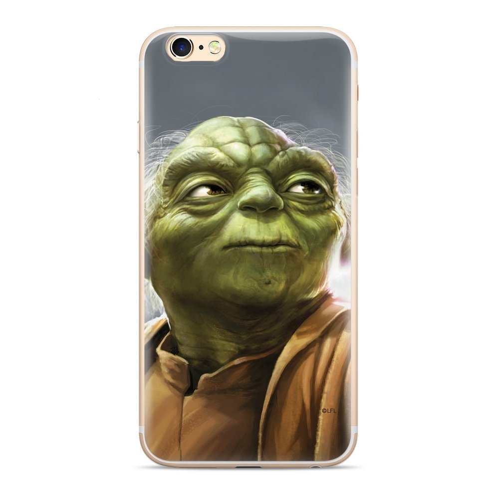 Pouzdro iPhone X, XS (5,8) Star Wars Yoda vzor 006