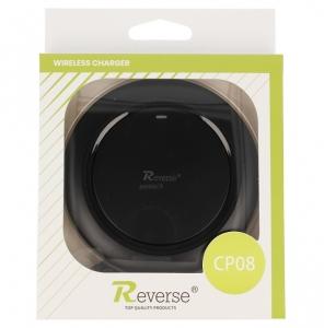 Indukční nabíječ REVERSE CP08 2A barva černá